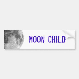 Moon Child Car Bumper Sticker