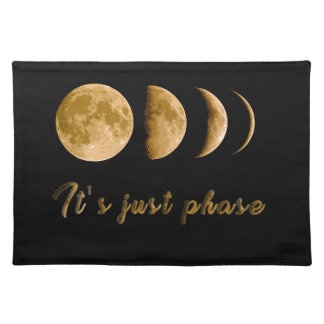 Moon child placemat