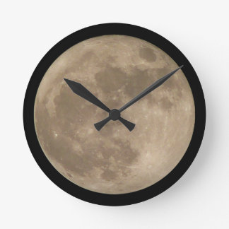 Moon Clock Full Moon Wall Clocks & Decor