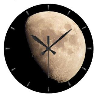 Moon Clock Romantic Moon Wall Clocks Personalize