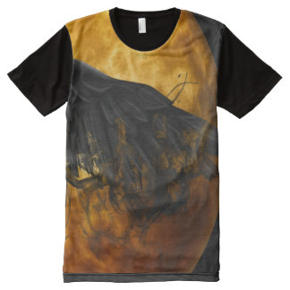 moon crow All-Over print T-Shirt