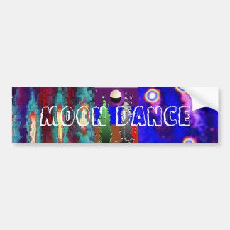 Moon Dance Bumper Sticker