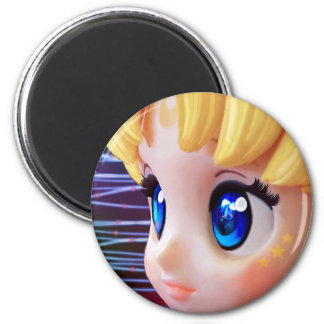 Moon Doll Magnet