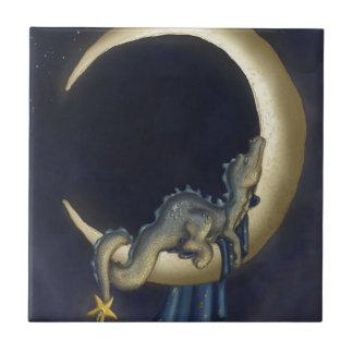 Moon Dreams Ceramic Tile
