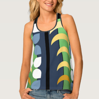 MOON DROPS TANK, i Art and Designs Singlet