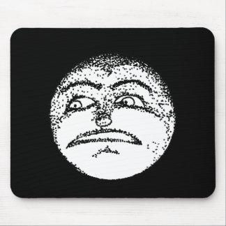 Moon Face Mousepad