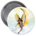 Moon Fairy 10 Cm Round Badge
