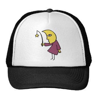 Moon Fishing Trucker Hats