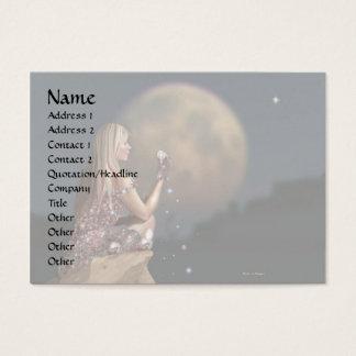Moon Flower 2 Business Card