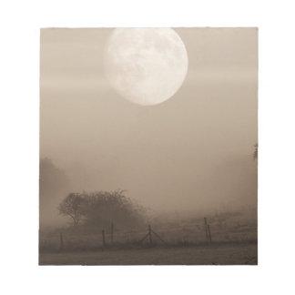 moon fog notepad