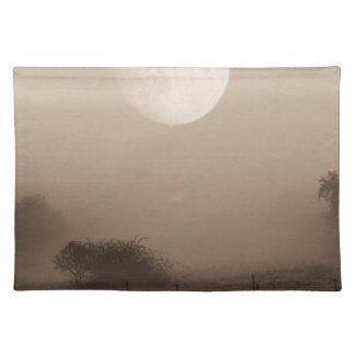 moon fog placemat