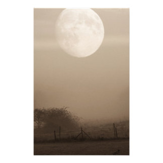 moon fog stationery