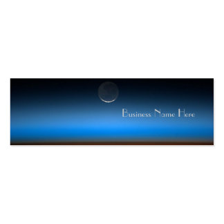 Moon From Space Bookmark Business Cards