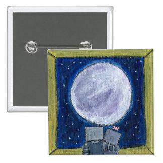 Moon-Gazing Robots Button