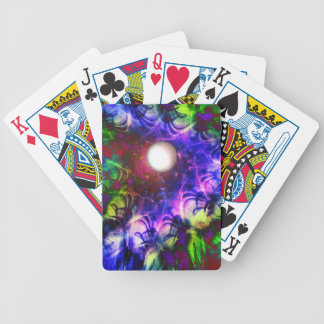 Moon Glow Bicycle Playing Cards