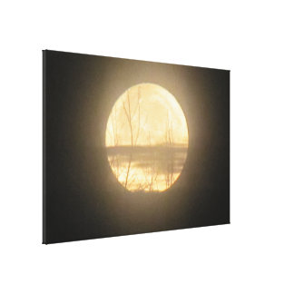 Moon Glow Gallery Wrap Canvas