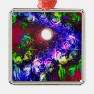 Moon Glow Metal Ornament
