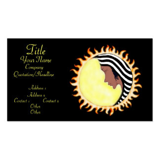 Moon Goddess 2 Business Cards
