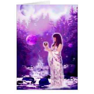 Moon Goddess Card