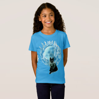 Moon Goddess Fairy Cat T-shirt
