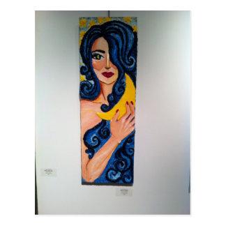 Moon Goddess Line Post Card
