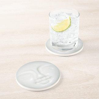 Moon Goddess Porcelain Beverage Coaster