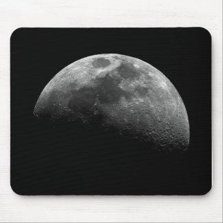 Moon, Half Moon Mouse Pad