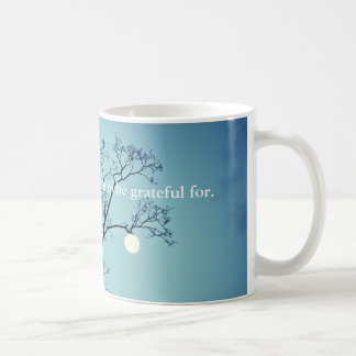 Moon Hanging on a Limb-Grateful Coffee Mug