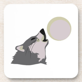 Moon Howl Coasters