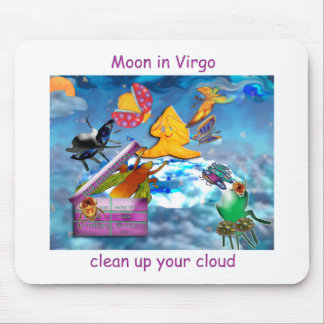 Moon in Virgo Mouse Pad
