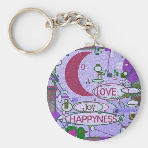 Moon Joy Key Chain