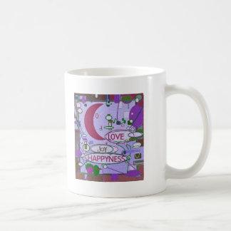 Moon Joy Basic White Mug