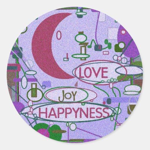 Moon Joy Sticker