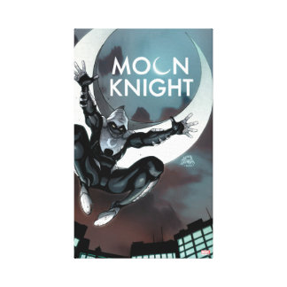 Moon Knight Cover Canvas Print