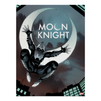 Moon Knight Cover Poster