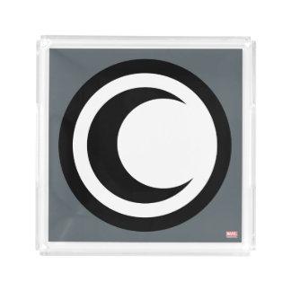 Moon Knight Logo Acrylic Tray