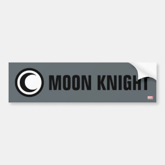 Moon Knight Logo Bumper Sticker