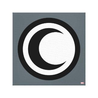 Moon Knight Logo Canvas Print