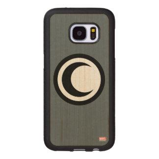 Moon Knight Logo Wood Samsung Galaxy S7 Case