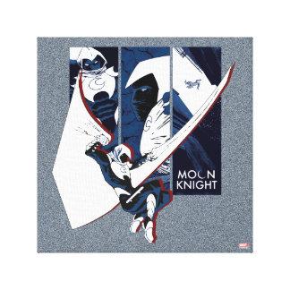 Moon Knight Panels Canvas Print
