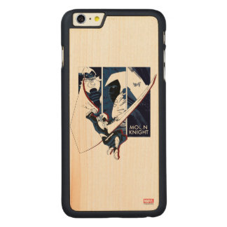 Moon Knight Panels Carved Maple iPhone 6 Plus Case