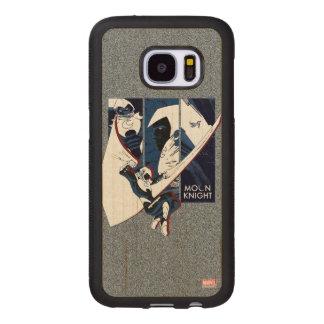 Moon Knight Panels Wood Samsung Galaxy S7 Case