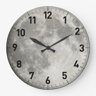 Moon Large Clock