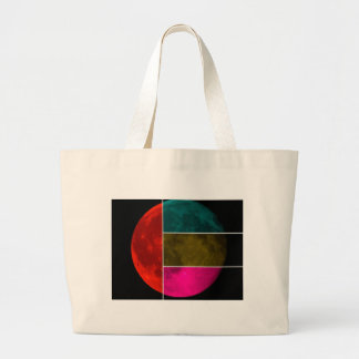 Moon Large Tote Bag