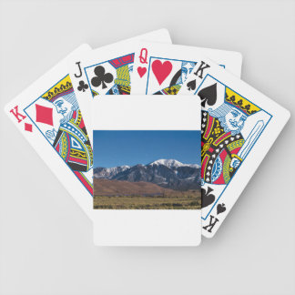 Moon Lit Colorado Great Sand Dunes Starry Night Bicycle Playing Cards