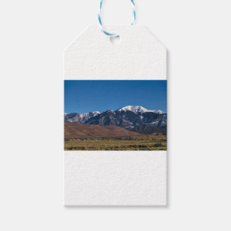 Moon Lit Colorado Great Sand Dunes Starry Night Gift Tags