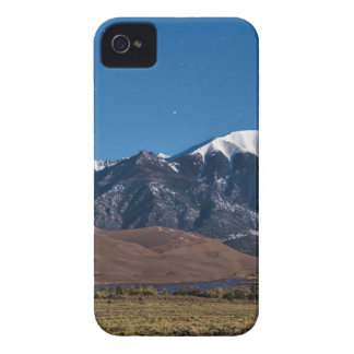Moon Lit Colorado Great Sand Dunes Starry Night iPhone 4 Cases