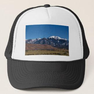 Moon Lit Colorado Great Sand Dunes Starry Night Trucker Hat
