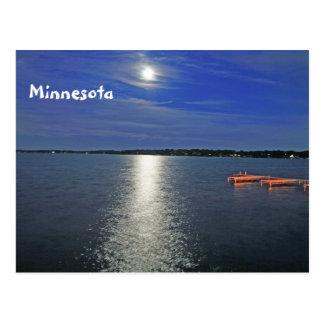 Moon Lit Night Postcard