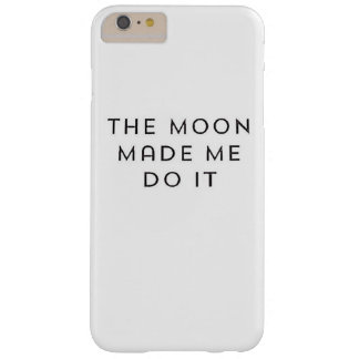Moon lovers ... barely there iPhone 6 plus case